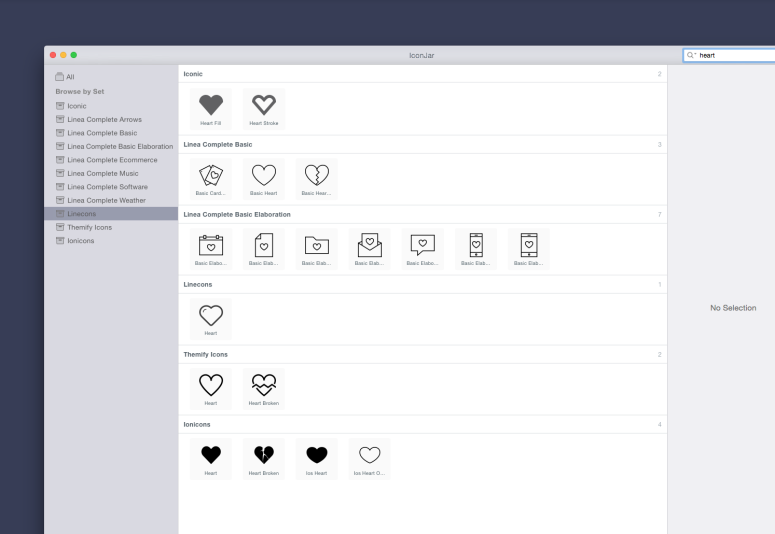 Iconjar Screenshot